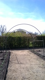 Prototype for the arched pathway