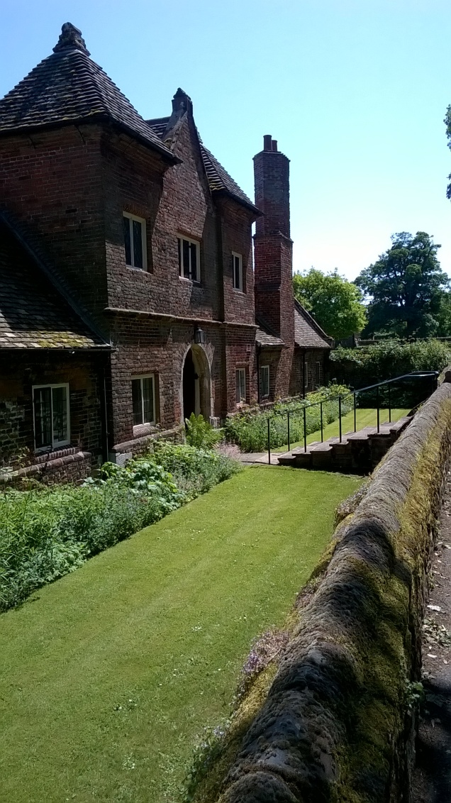 Castle Rising, Norfolk  Old School Garden