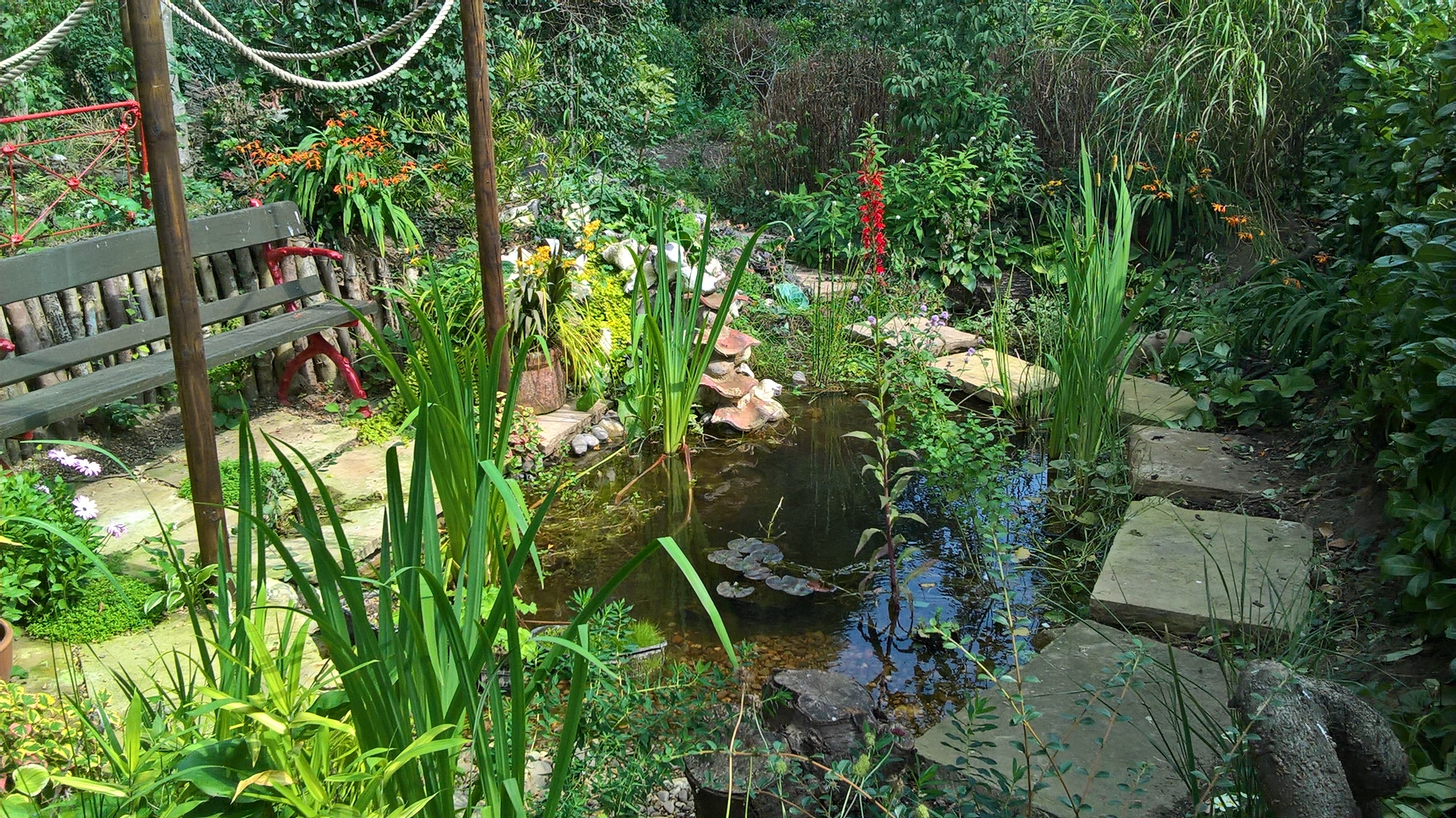 Letters Garden: Dear Walter: Letter From Old School Garden, 29th August