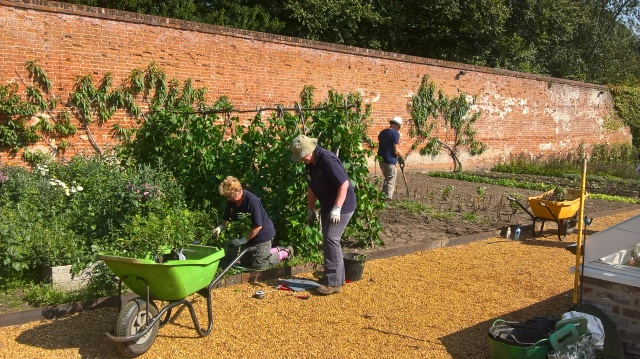 Weeding in the Walled Garden