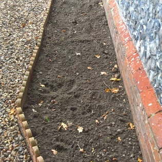 ....border nearly all ready to plant out