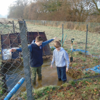 Up and away at the Allotment Project