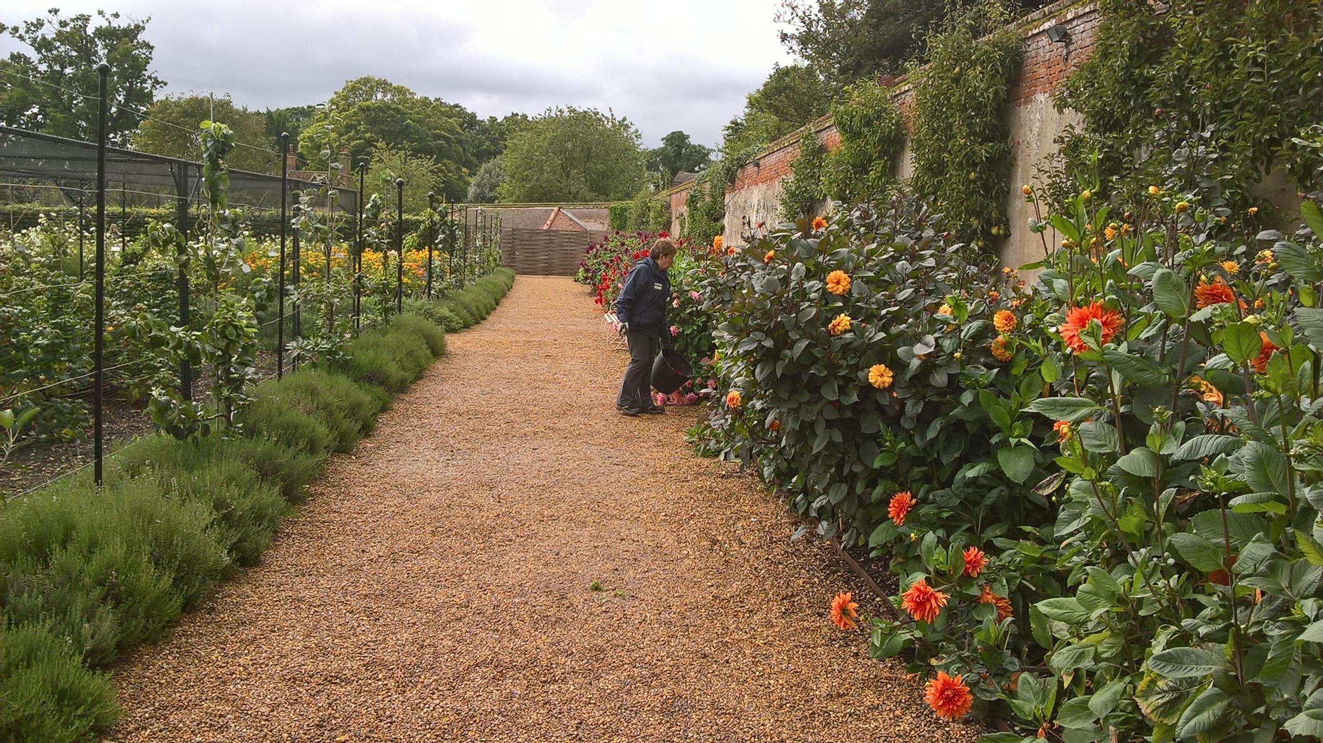 Blickling Hall- rebirth of the Walled Garden | Old School Garden
