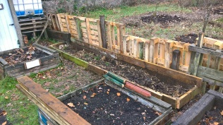 A new raised bed created in just 30 minutes....
