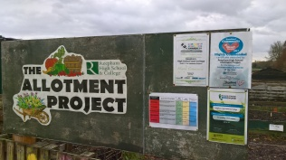 Reepham high School Allotment Project...